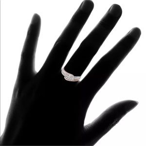 Jewelry - ❤️ RESERVED White Sapphire Rounds in 18k dipped